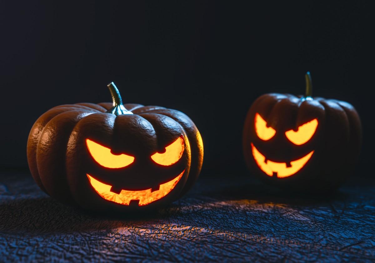Halloween Pumpkin Carving Face Creepy Spooky Ghost Ghostly 1324569.jpg!d