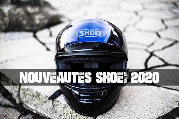 Nouveautés 2020 SHOEI!
