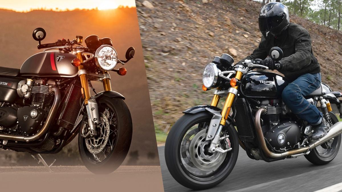 Essai Moto Triumph Thruxton 1200 RS