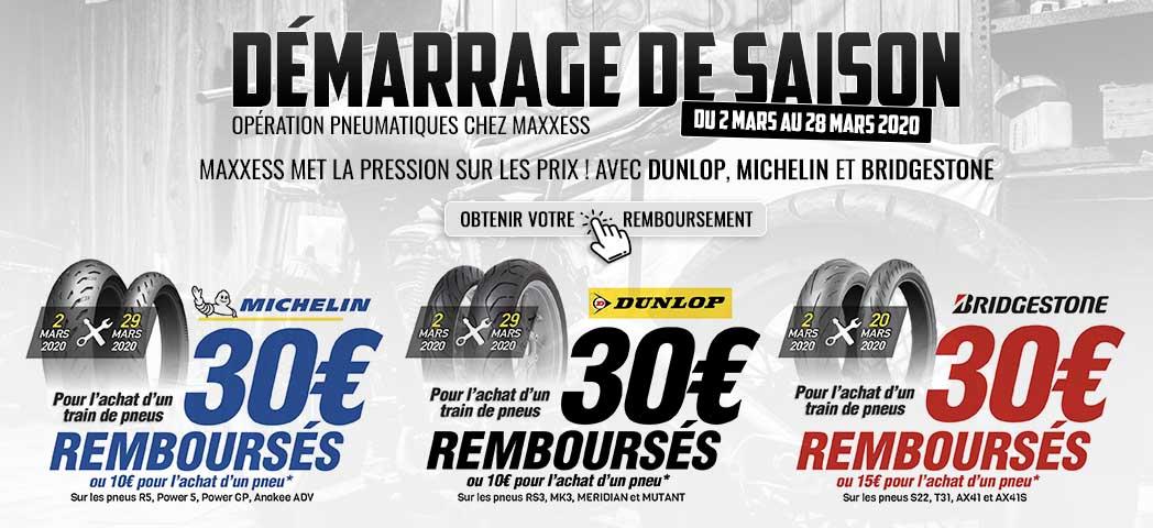 MAXXESS Met La Pression Sur Les Prix ! AvecDUNLOP,MICHELIN Et BRIDGESTONE