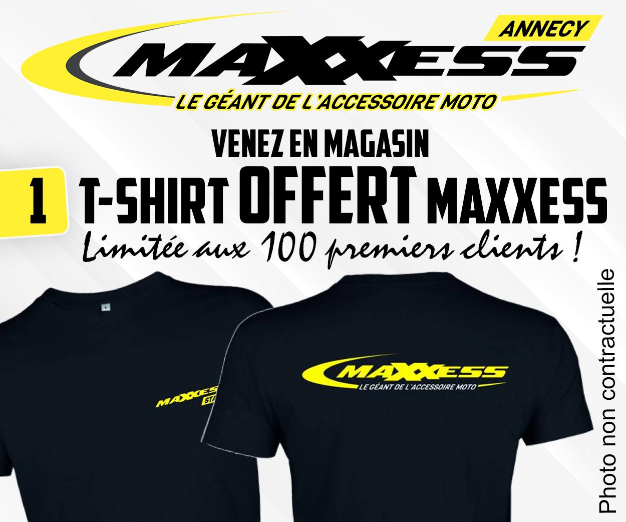MAXXESS ANNECY / UN CADEAU OFFERT !