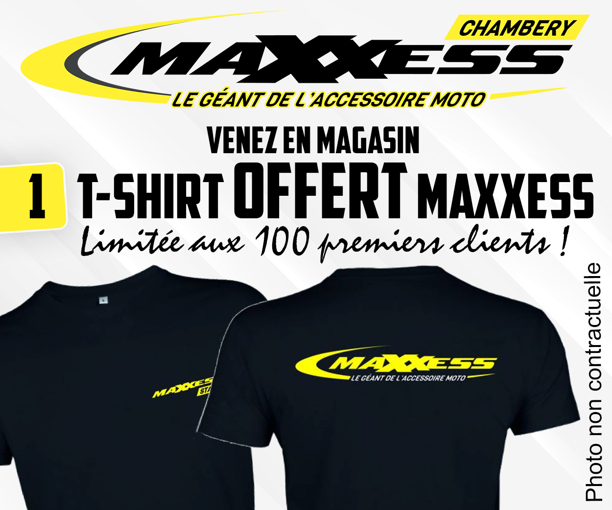 MAXXESS CHAMBÉRY / UN CADEAU OFFERT !