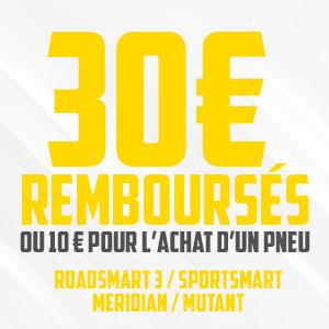 30€ Remboursés !