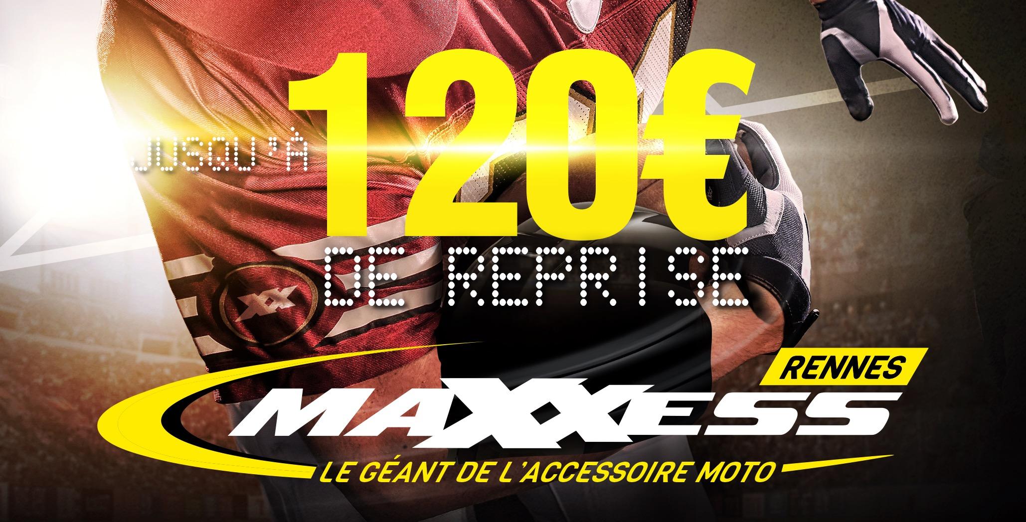 C'est La Reprise Casque, Vêtement Et Tout-terrain Chez MAXXESS Rennes