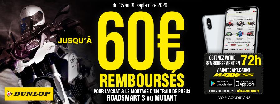 60€ Offerts Avec Dunlop