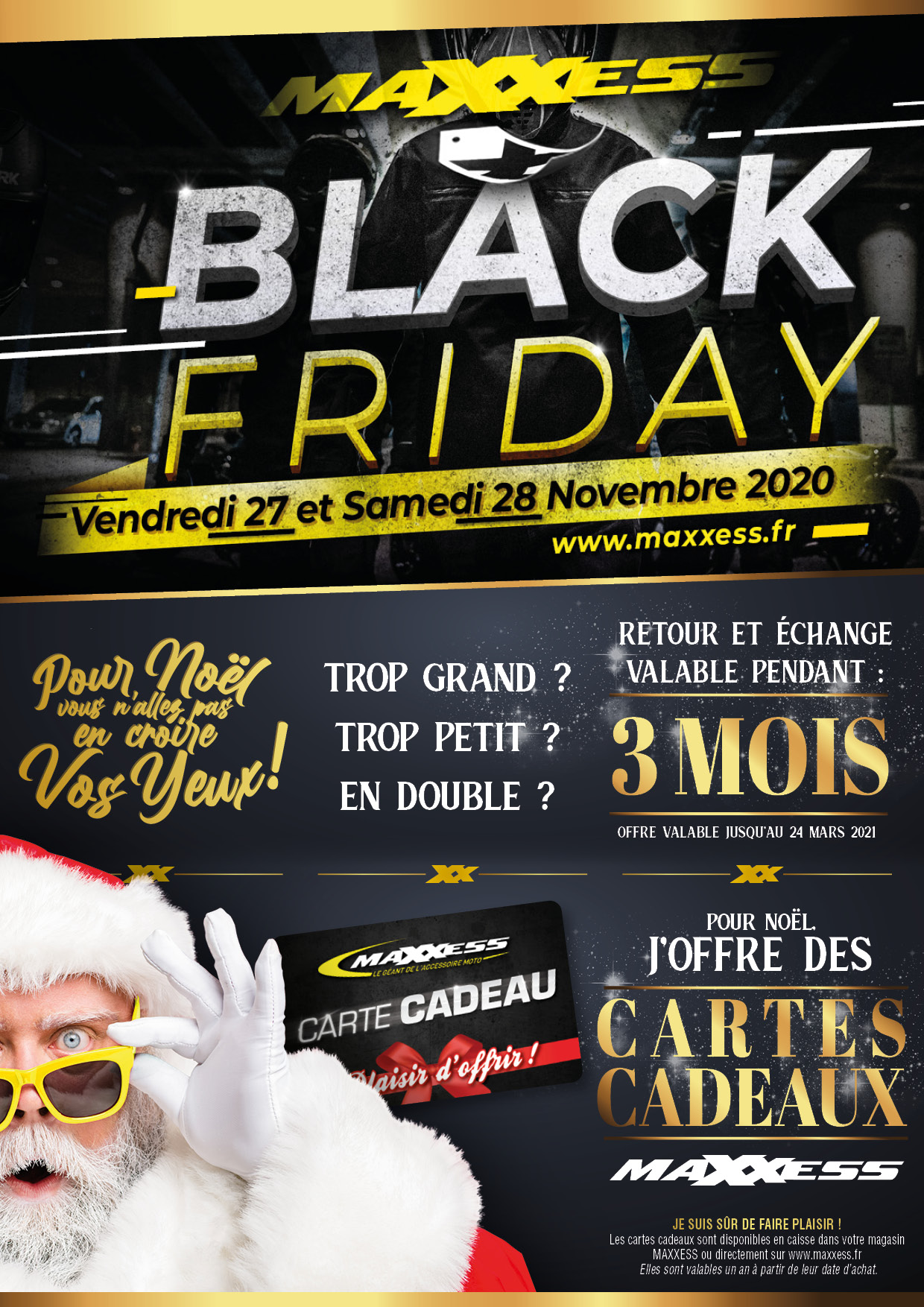 BLACK FRIDAY Et NOËL MAXXESS NANCY