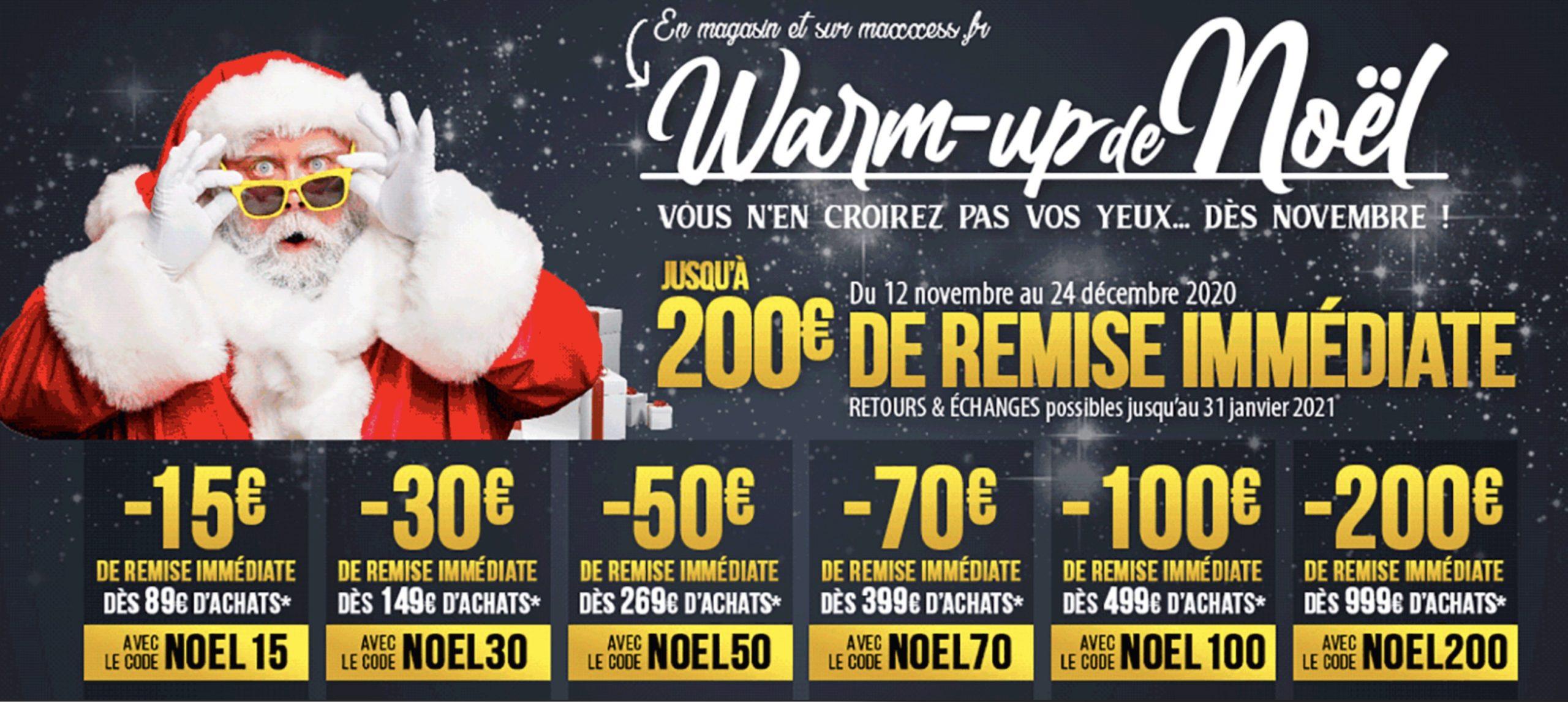 Fêtez Noël Avec Les Promotions MAXXESS