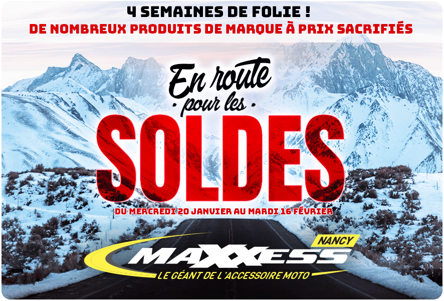 SOLDES HIVER Chez MAXXESS