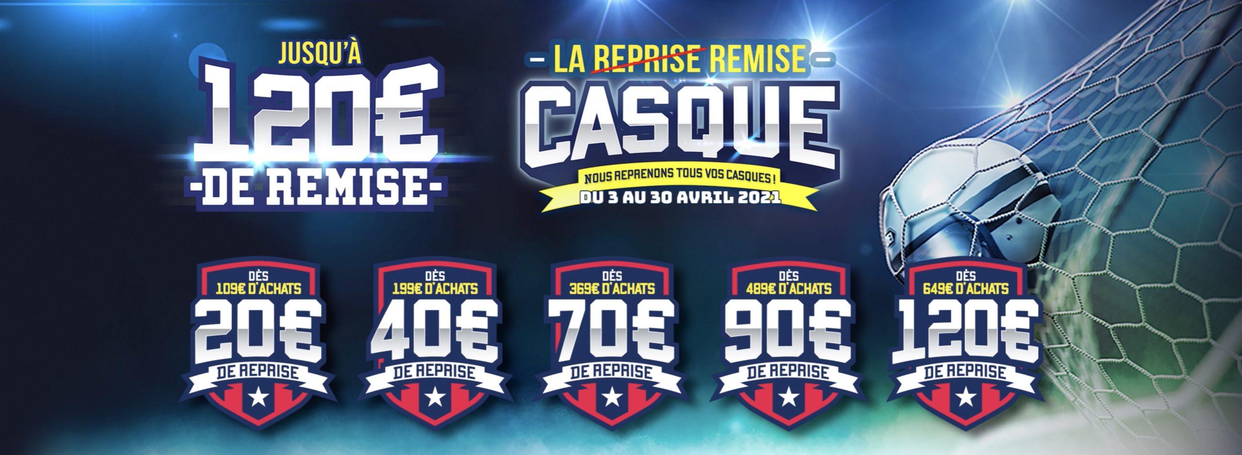 REMISE CASQUE