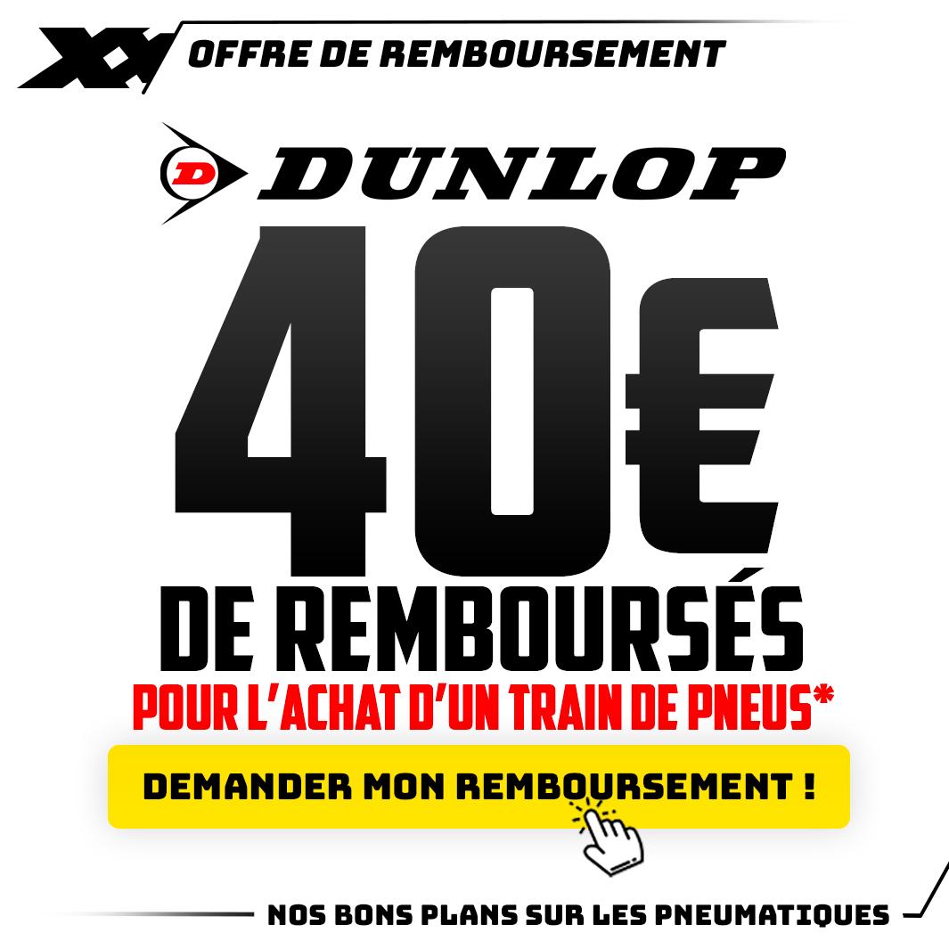 40 € DE REMBOURSÉS !