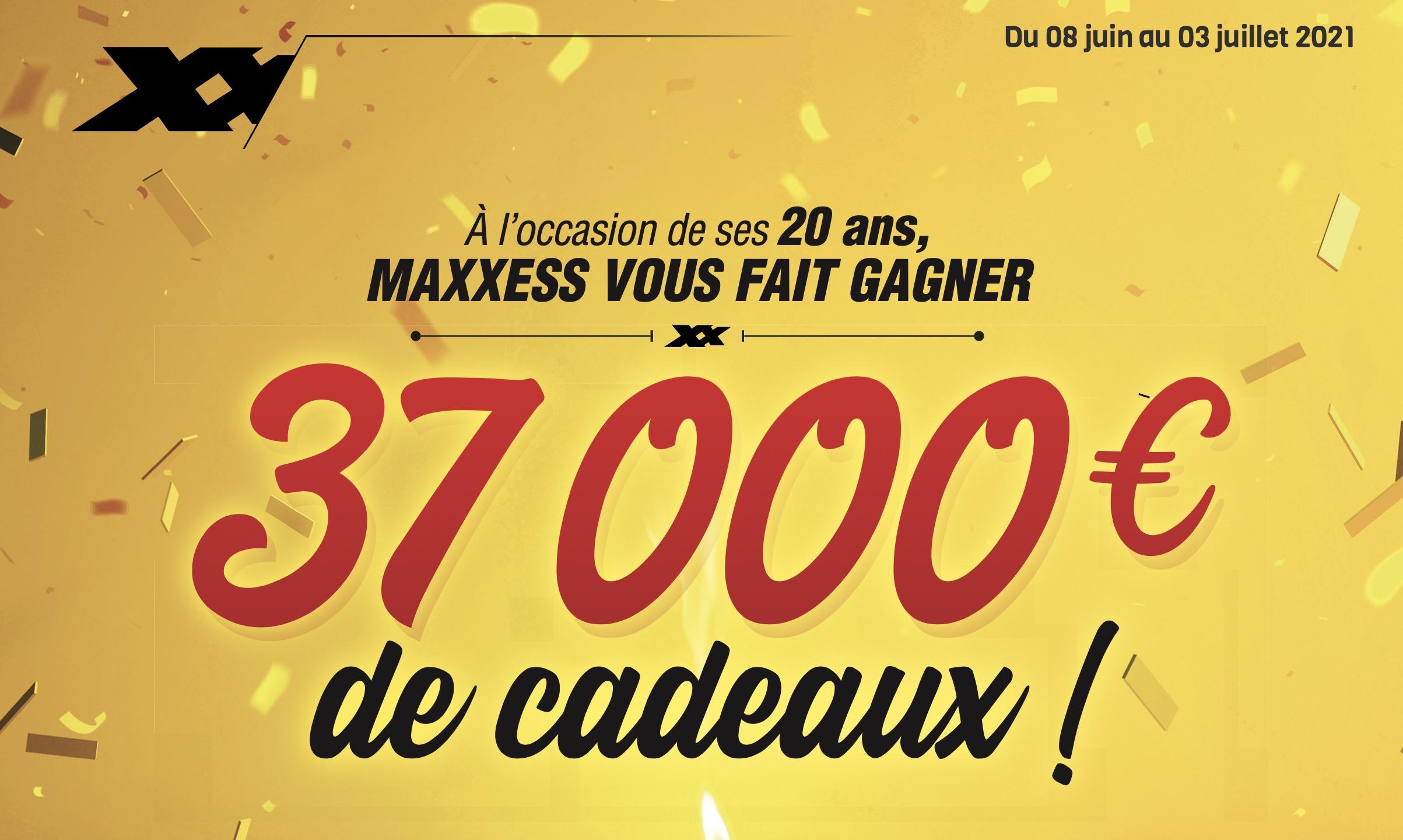 C'est Les 20 Ans MAXXESS !