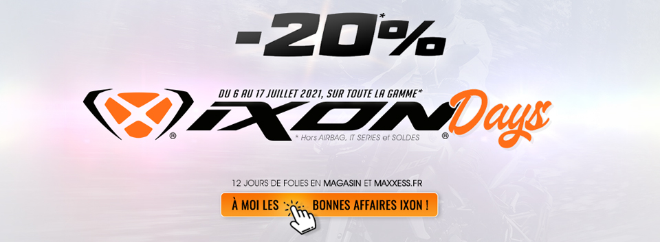 IXON DAYS Chez MAXXESS