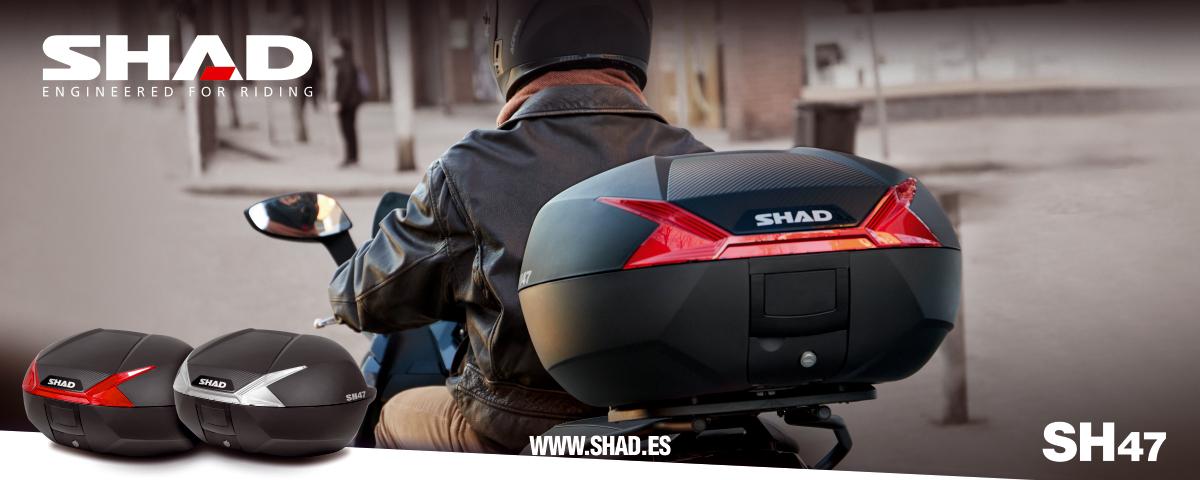 Nouveau SHAD SH47, Conçu Pour La Nouvelle Mobilité