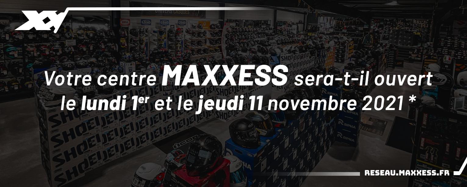 Votre Centre MAXXESS Sera-t-il Ouvert Le Lundi 1er Et Le Jeudi 11 Novembre 2021 ?